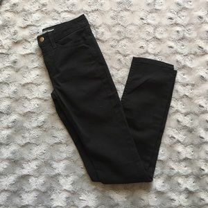 NWOT American Apparel black high-waisted jeans